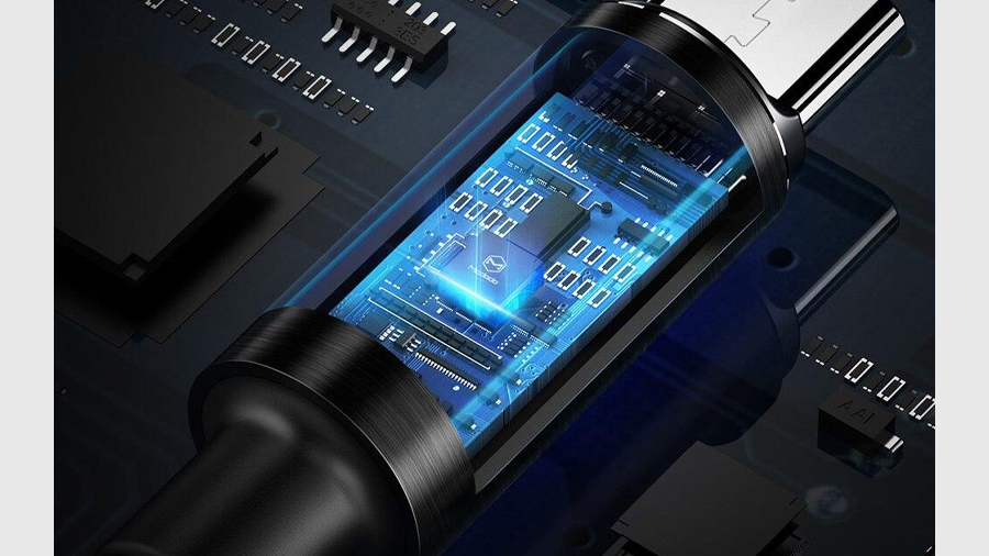 کابل شارژ و انتقال داده 1.5 متری تایپ سی مک دودو MCDODO Auto Disconnect Type-C Data Cable 1.5M CA-617 دارای تراشه کنترل هوشمند