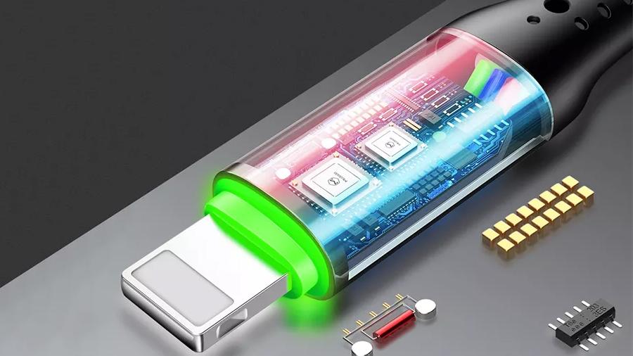 کابل شارژ و انتقال داده لایتنینگ مک دودو MCDODO Auto Power Off Lightning 1.2M ca-7412 نسل جدید کابل های مک دودو