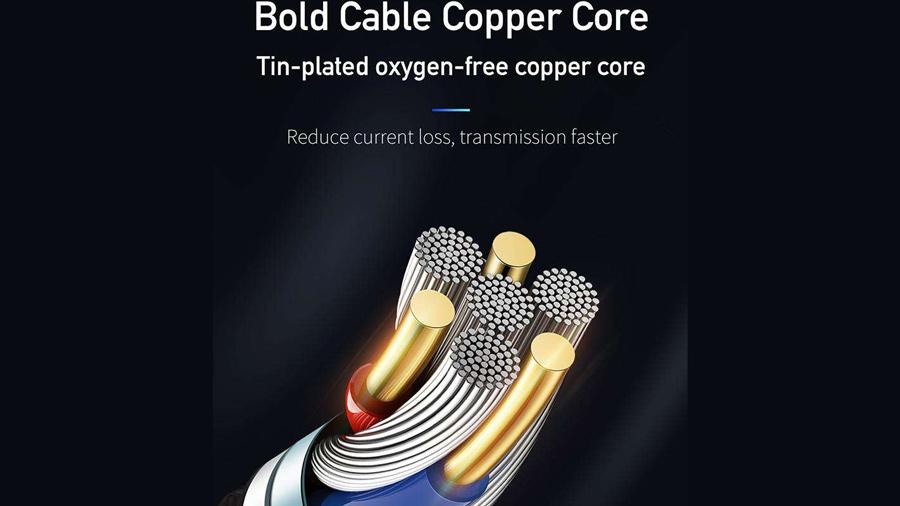 کابل شارژ و انتقال داده 1.8 متری فنری تایپ سی مک دودو MCDODO Data Coiled Cable Type-C 1.8M CA-642 دارای هسته های مسی قدرتمند