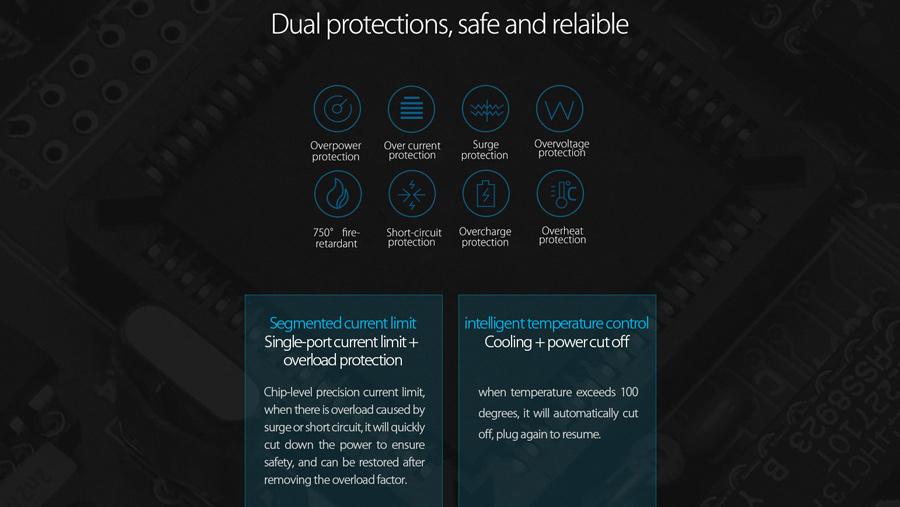 داک شارژ هوشمند 5 پورت اوریکو Orico DUC-5P 5 Ports USB Smart Charging Station دارای محافظت دوگانه