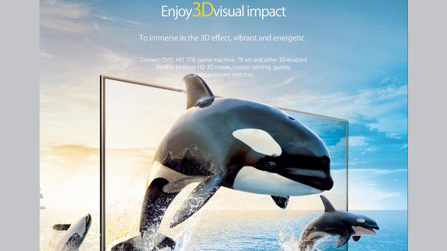 لذت تصاویر سه بعدی توسط کابل اچ دی ام آی نسخه 2.0 اوریکو Orico HD403 8M