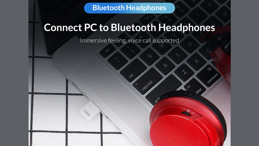 دانگل بلوتوث اوریکو Orico USB External Bluetooth Adapter BT-409 دارای قابلیت پخش موسیقی و مکالمه