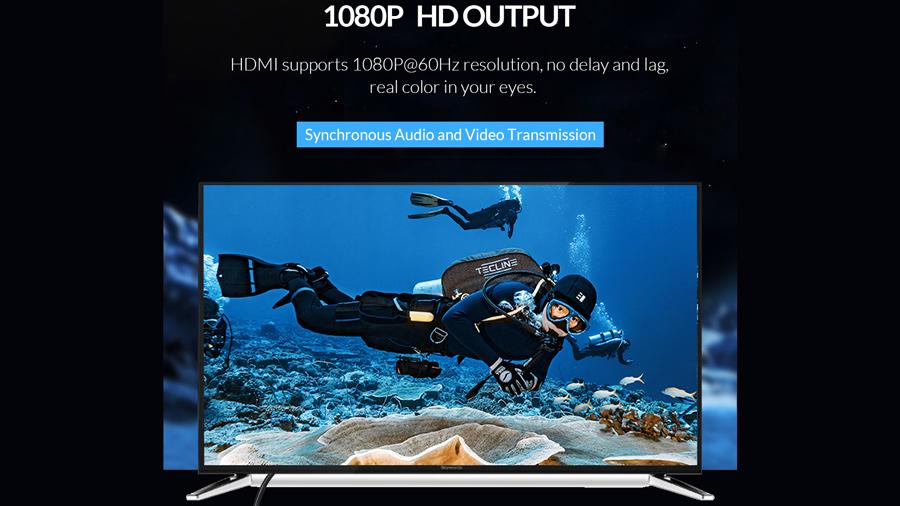 مبدل یو اس بی به HDMI اوریکو Orico USB to HDMI Adapter PE-P1 دارای خروجی تصویر 1080P