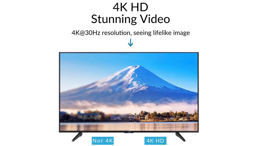 دانگل وایرلس انتقال تصویر به HDMI اوریکو Orico PE-PW1 دارای خروجی 4K