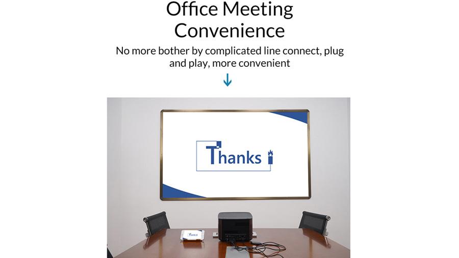 دانگل وایرلس انتقال تصویر به HDMI اوریکو Orico PE-PW1 برگزاری آسان جلسات توسط مبدل اوریکو