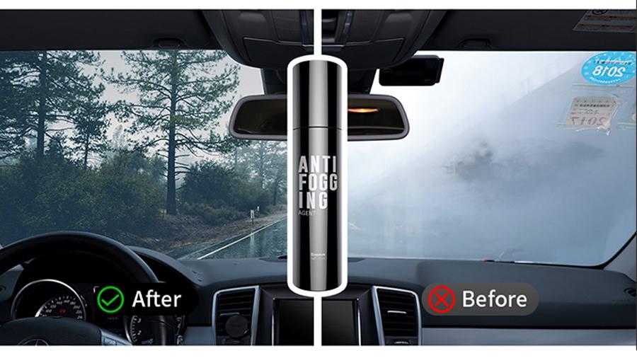 اسپری ضد مه برای شیشه خودرو بیسوس Baseus Anti-Fog Agent for Glass دارای ماندگای بالا