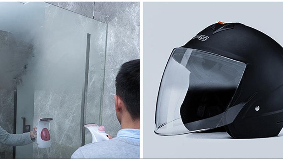 اسپری ضد مه برای شیشه خودرو بیسوس Baseus Anti-Fog Agent for Glass قابل استفاده برای کلاه ایمنی و  آینه حمام و دستشویی