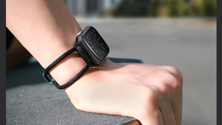 بند طنابی اپل واچ بیسوس Baseus Lets go Apple Watch Lockable Rope Strap بسیار راحت برای مچ دست