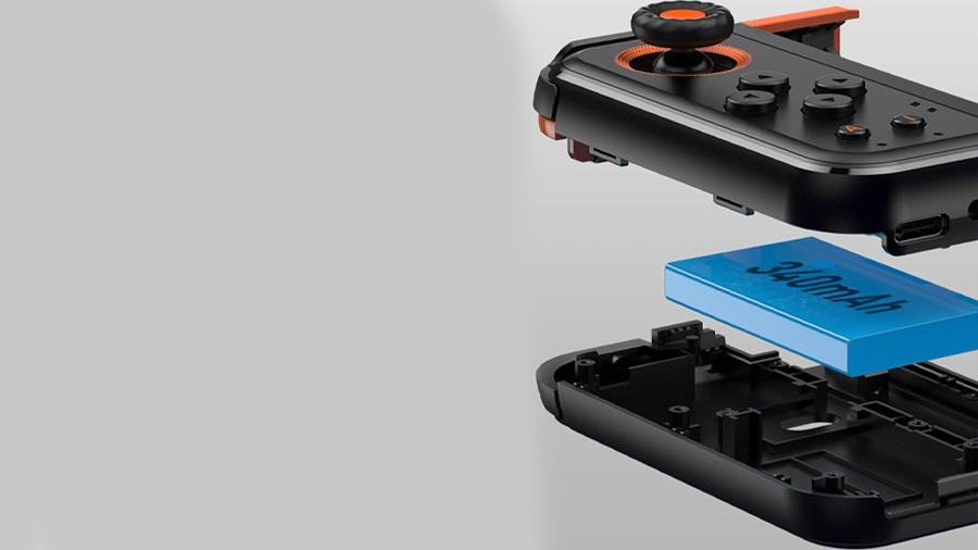 دسته بازی تکی مخصوص موبایل بیسوس Baseus GAMO Mobile Game One-Handed Gamepad دارای باتری لیتیوم یونی