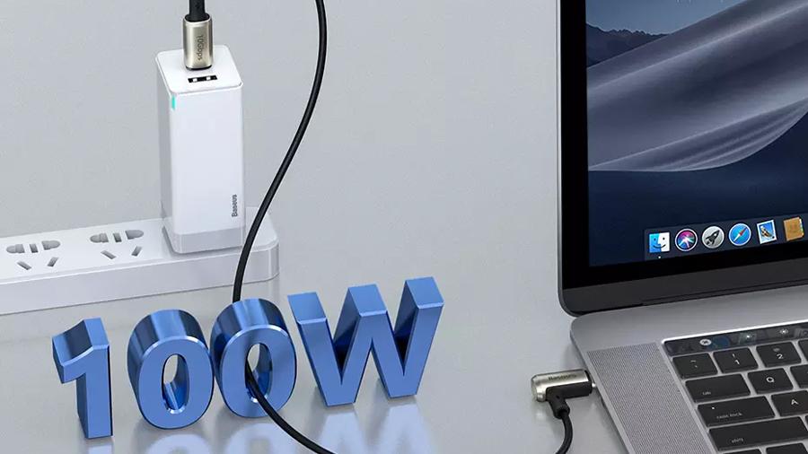 کابل شارژ سریع و انتقال داده تایپ سی به تایپ سی بیسوس Baseus Hammer Cable Type-c PD 1.5M دارای قابلیت شارژ سریع