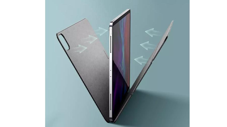 کاور چرمی آیپد پرو 11 اینچ مغناطیسی بیسوس Baseus Magnetic Leather Case for iPad pro (2020) محافظت از صفحه نمایش
