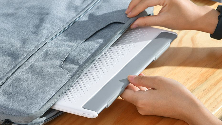 استند لپ تاپ تا 15 اینچ بیسوس Baseus Mesh Portable Laptop Stand 15inch دارای قفل مغناطیسی