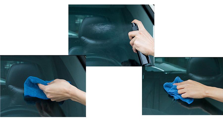 اسپری ضد باران برای شیشه خودرو بیسوس Baseus Rainproof Agent  استفاده آسان
