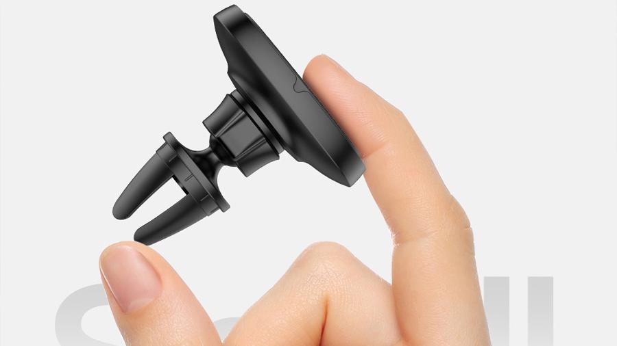 هولدر موبایل آهنربایی جویروم Joyroom JR-ZS202 Car Outlet Bracket دارای ابعاد کوچک