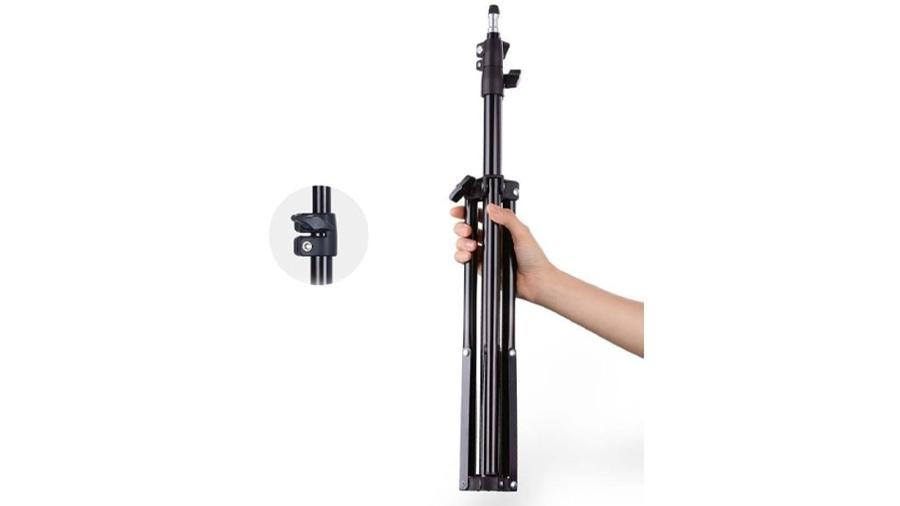 رینگ لایت 10 اینچی همراه با سه پایه جویروم Joyroom JR-ZS228 10inch Ring Light دارای سه پایه مستحکم