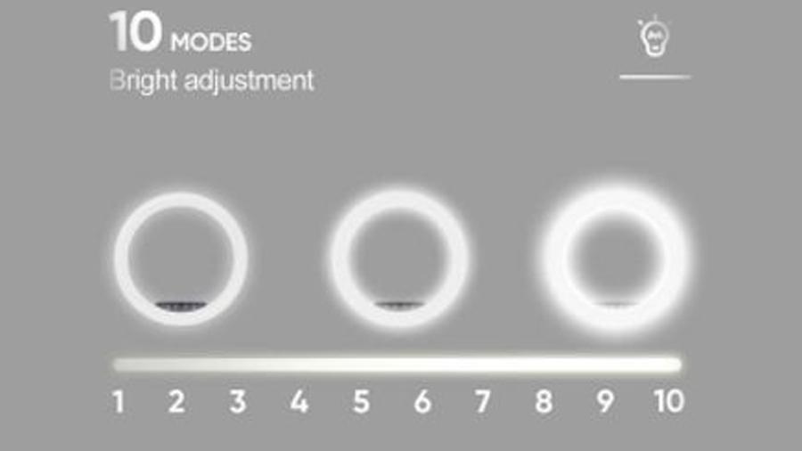 رینگ لایت 10 اینچی همراه با سه پایه جویروم Joyroom JR-ZS228 10inch Ring Light دارای قابلیت کنترل دمای نور