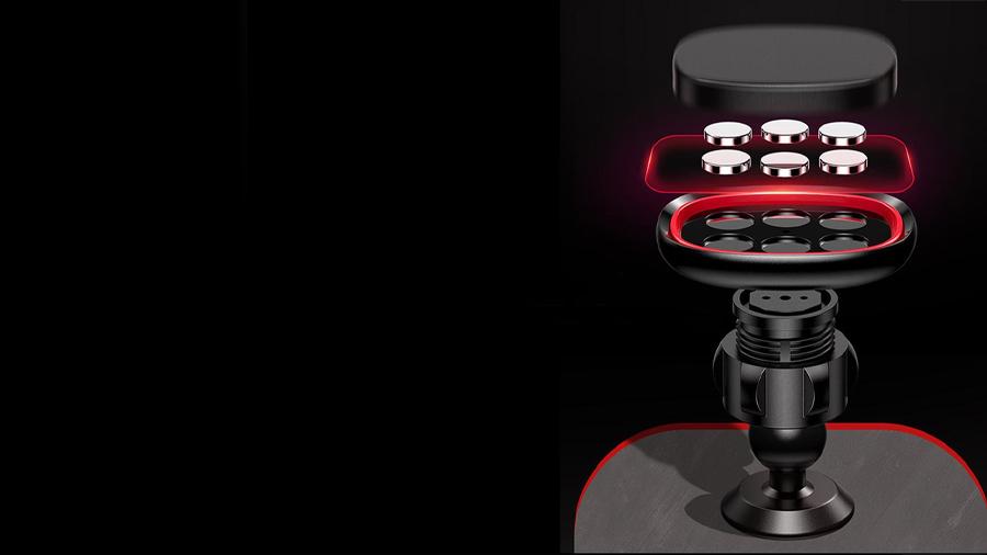 هولدر موبایل آهنربایی جویروم Joyroom JR-ZS205 Magnetic Dashboard Holder دارای آهنربای قدرتمند