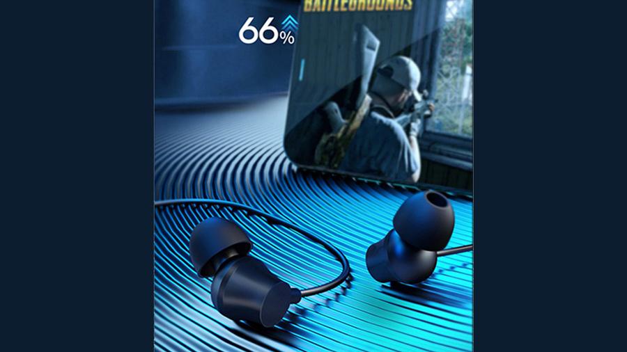 هندزفری با سیم لنوو Lenovo QF320 Wired In Ear Headphones دارای قابلیت کاهش نویز