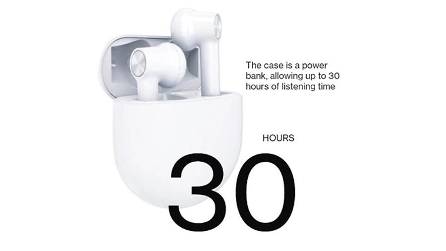 هندزفری بلوتوث وانپلاس OnePlus Buds Bluetooth Handsfree E501A دارای شارژدهی عالی