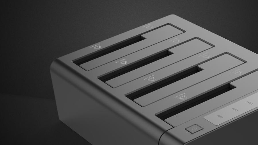 داک هارد درایو 4 تایی اینترنال اوریکو Orico 6648US3-C دارای بدنه باکیفیت ABS