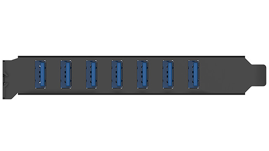 هاب اینترنال 7 پورت یو اس بی 3.0 اوریکو Orico PVU3-7U USB 3.0 7Port Hub