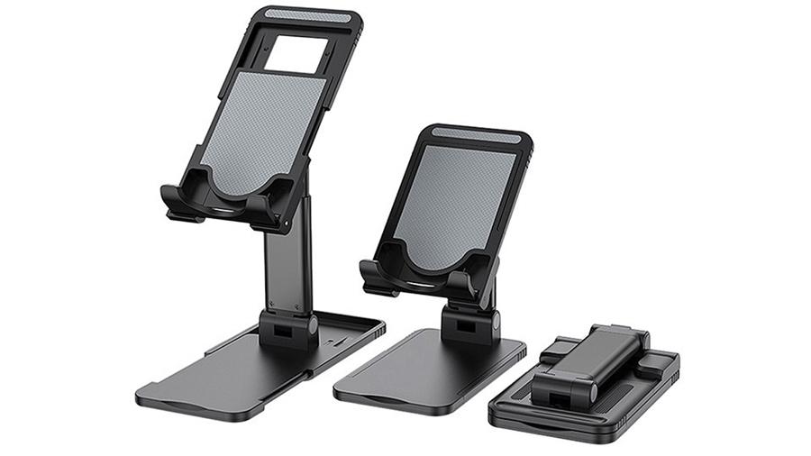 استند رومیزی موبایل و تبلت توتو Totu DCTS-14 Desktop Stand  قابلیت حمل و نقل آسان