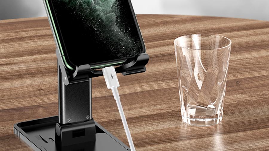 استند رومیزی موبایل و تبلت توتو Totu DCTS-14 Desktop Stand  دارای شیار مخصوص شارژ دستگاه
