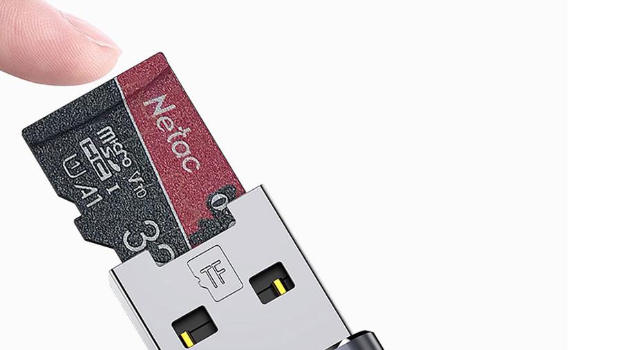 رم ریدر او تی جی لایتنینگ توتو Totu FGCR-006 Lightning OTG External TF Flash Card  دارای سرعت انتقال بالا