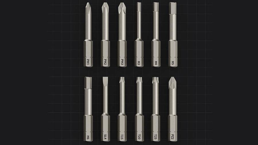پیچگوشتی شارژی شیائومی Xiaomi HOTO 3.6v Cordless Screwdriver دارای 12 سری مختلف