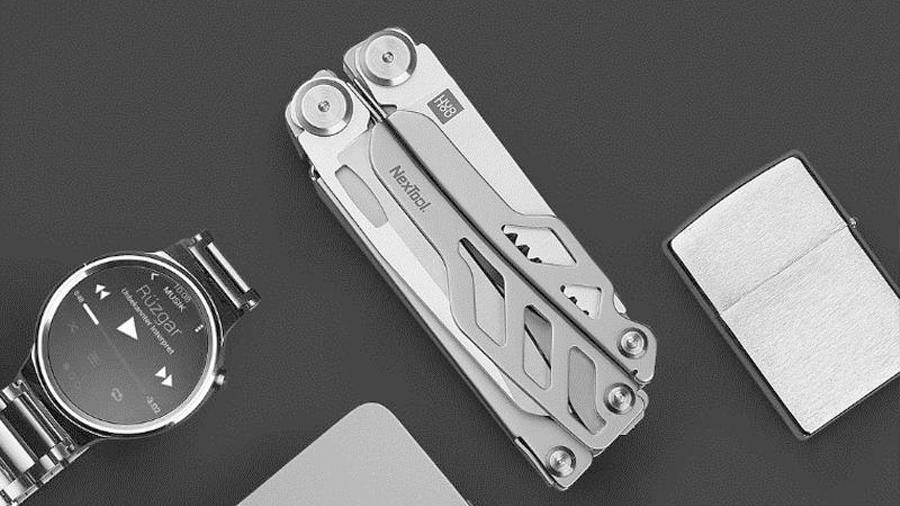 چاقوی چندکاره شیائومی هوهو Xiaomi Huohuo Nextool Multi-function Knife HU0040 کوچک و قابل حمل