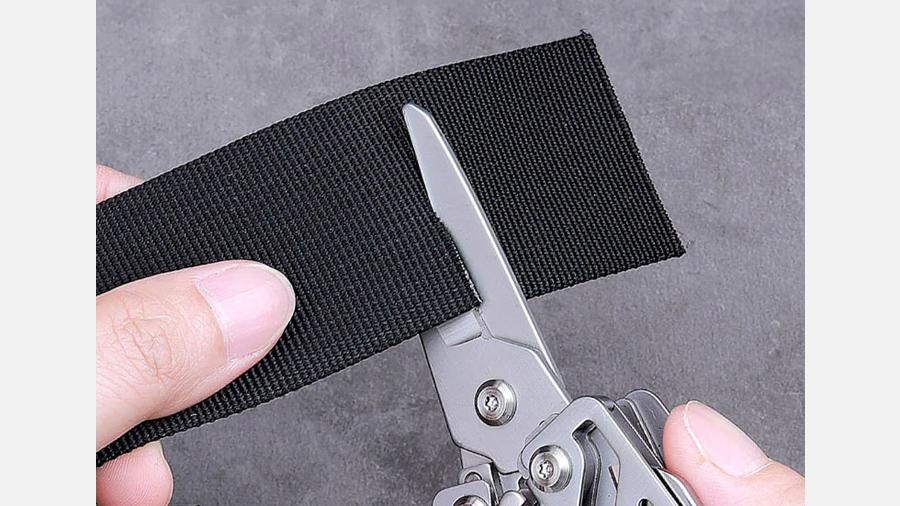 چاقوی چندکاره شیائومی هوهو Xiaomi Huohuo Nextool Multi-function Knife HU0040 دارای قیچی