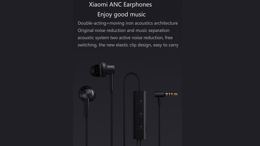 هندزفری باسیم نویزکنسلینگ شیائومی XIAOMI Mi JZEJ02JY Noise Cancelling In-ear Headphone