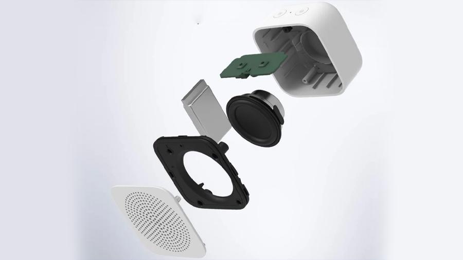 اسپیکر بلوتوث هوشمند قابل حمل شیائومی Xiaomi Intelligent XiaoAi Assistant Mini Bluetooth Speaker دارای طراحی زیبا