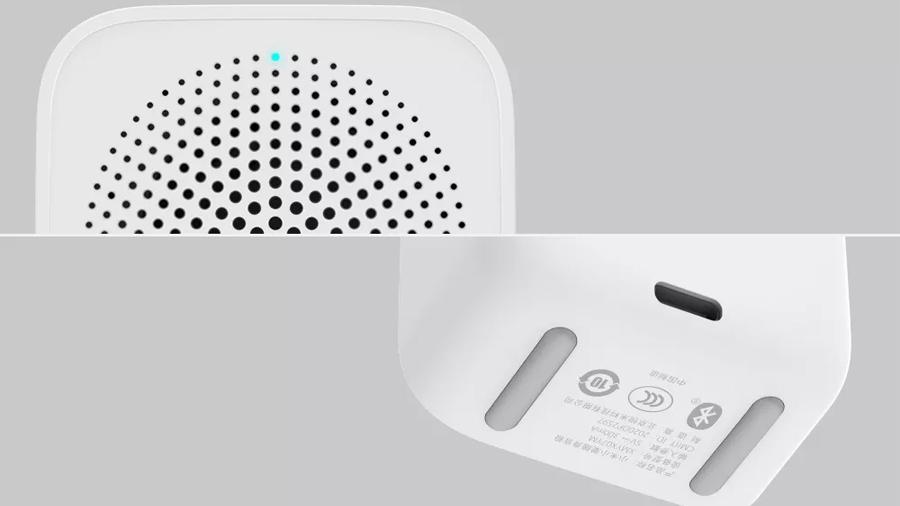 اسپیکر بلوتوث هوشمند قابل حمل شیائومی Xiaomi Intelligent XiaoAi Assistant Mini Bluetooth Speaker دارای چراغ ال ای دی