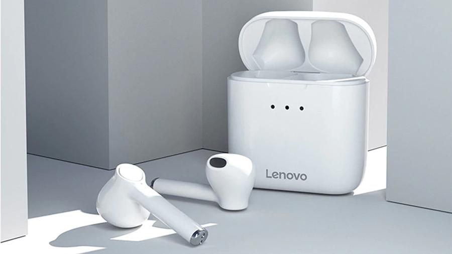 هندزفری بلوتوث لنوو Lenovo QT83 Bluetooth Earphones دارای بلوتوث نسخه 5