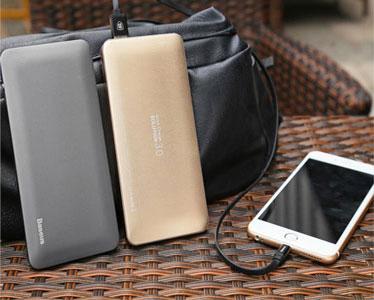 پاور بانک شارژ سریع بیسوس Baseus Quick Charge 3.0 Galaxy Series Power Bank