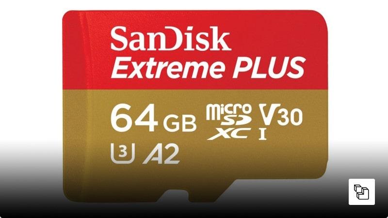 کارت حافظه Sandisk  مدل Extreme Plus  با ظرفیت 64 گیگابایت