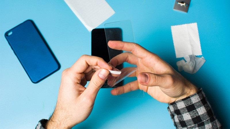آموزش نصب محافظ صفحه گوشی