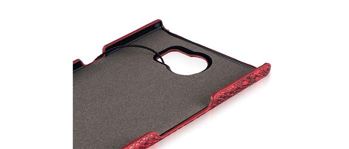 قاب محافظ چرمی طرح دار  پیرکاردین بلک بری Pierre cardin Cover BlackBerry Priv