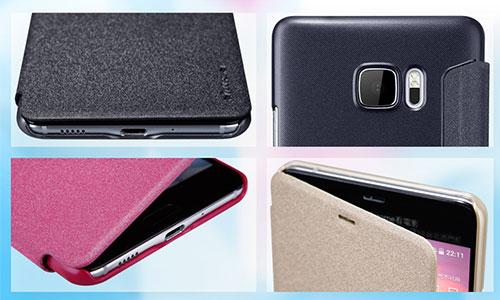 کیف نیلکین اچ تی سی Nillkin Sparkle Leather Case For HTC U Ultra