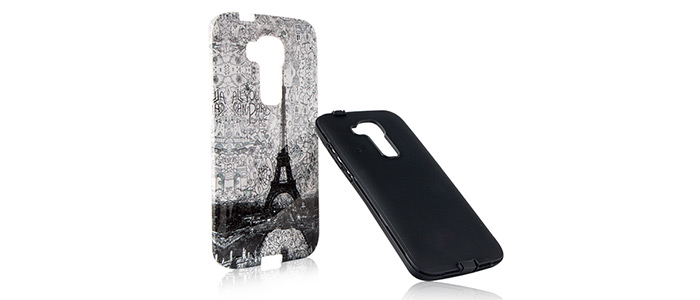 قاب محافظ گوشی هواوی طرح برج ایفل Rock Case Huawei G8