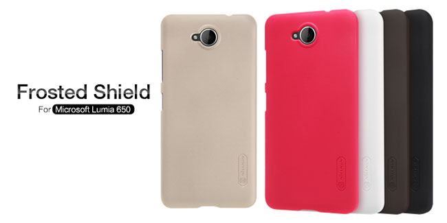 قاب محافظ مایکروسافت لومیا 650 مارک نیلکین Nillkin Frosted Shield For Microsoft Lumia 650