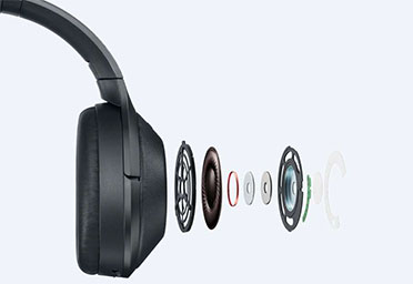 هدفون بلوتوث سونی Sony MDR-1000X Noise Canceling Bluetooth Headphones
