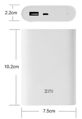 مودم همراه 4G و پاوربانک شیائومی ZMI MF855