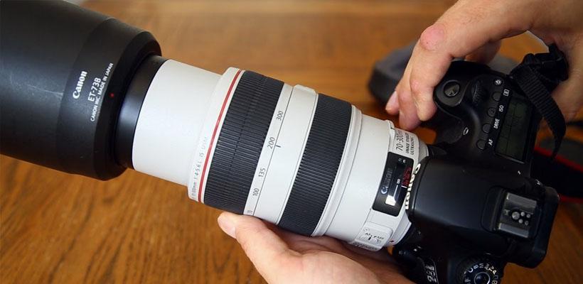 لنز دوربین EF 70-300mm f/4-5.6L IS USM