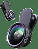 انواع لنز گوشی موبایل
