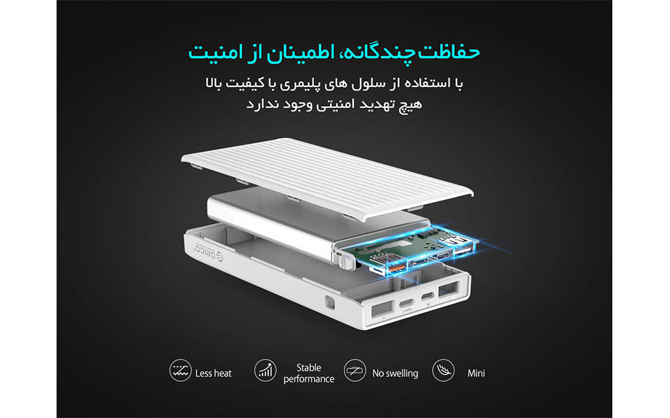 ORICO K10000mAh Smart Power Bank