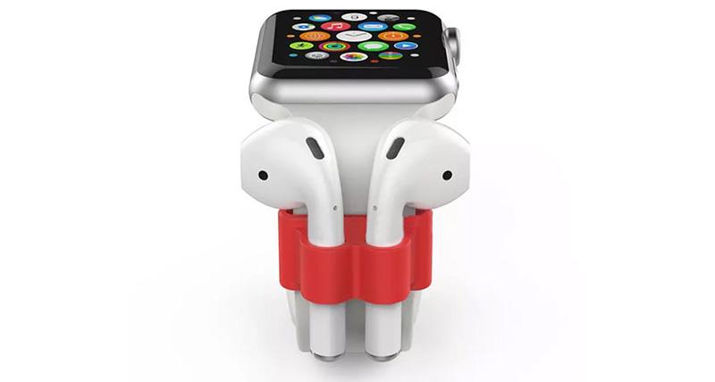 نگهدارنده ایرپاد روی اپل واچ