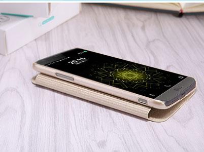 قاب محافظ نیلکین ال جی Nillkin Sparkle Leather Case LG G5