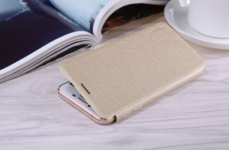 قاب محافظ نیلکین سامسونگ Nillkin Sparkle Leather Case Samsung Galaxy C5